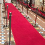 Our Red Carpet and Bollards, nice,