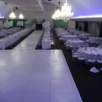 White Dance Floor & 20m Cat walk