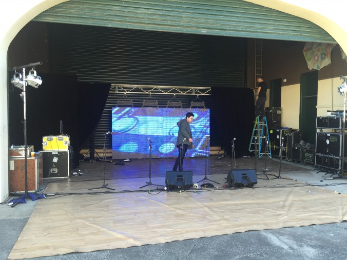 LED Screen at Bondi Show