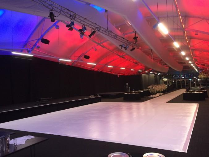 White Dance Floor Gloss