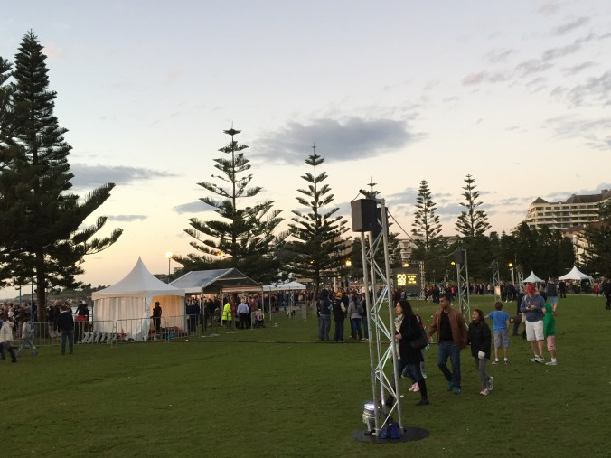 Anzac Dawn Service Set Up 2015